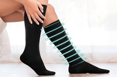 Como lavar meias de compressão e meias de descanso?