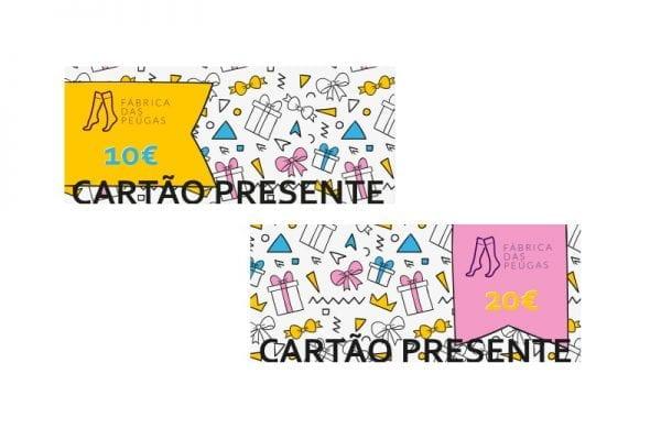 Cartão Presente Fabrica das Peúgas